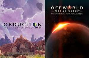 Epic Games - Giochi PC Gratis : Obduction & Offworld Trading Company