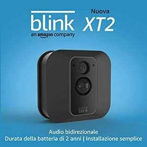 Nuova Blink XT2   Telecamera di sicurezza per interni/esterni con archiviazione sul cloud