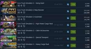 Euro Truck Simulator 2 + DLC (30-80% sconto)