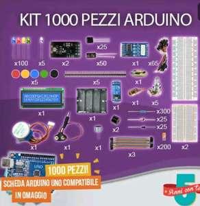 Kit Arduino 1000 pezzi + Board Gratis