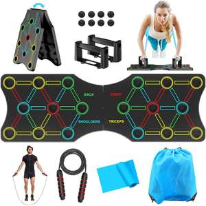 Push Up Board + Accessori Fitness 9.9€
