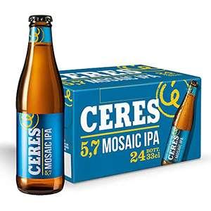 Ceres Mosaic Ipa – Birra IPA fruttata con note di mango e agrumi. 5,7% vol. 24 bottiglie x 33cl
