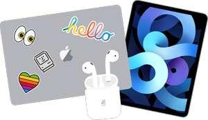 Compra un Mac o un iPad per l'università. Avrai gli AirPods