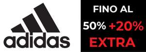 Outlet Adidas 50% + 20% Extra