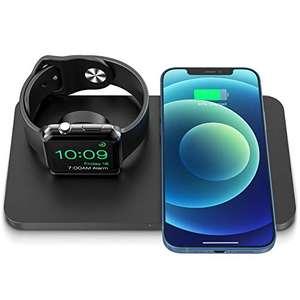 iSeneo Caricatore Wireless 2 in 1,
