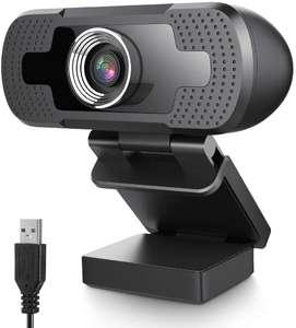 Webcam 1080p FHD con microfono 4.4€