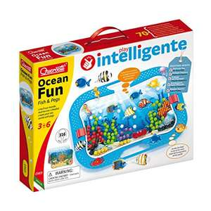 Quercetti - 0969 Ocean Fun Fish & Pegs
