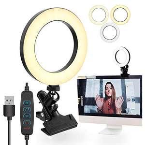 Luce ad Anello Ring Light LED 3 colori + 10 livelli di luminosità
