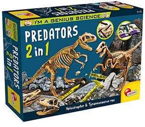 Lisciani Giochi- I'm a Genius Predators 2 in 1 Gioco Scientifico