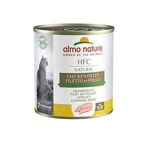 almo nature HFC Natural Filetto di Pollo Umido Gatto 100% Naturale - Confezione da 12 x 280 g