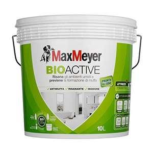 MaxMeyer Pittura per interni antimuffa Bioactive BIANCO 10 Litri