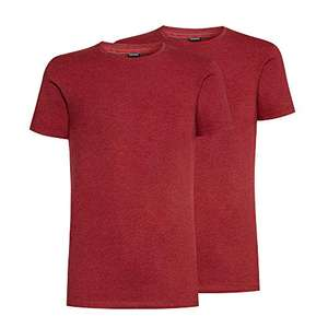 2 t-shirt-YAMAMAY® Bipack di t-Shirt Girocollo Tinta Unita - Fashion Color solo XS -S