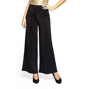 YAMAMAY® Pantaloni Donna a Campana brillantinati - Party TAGLIE XS-S-M