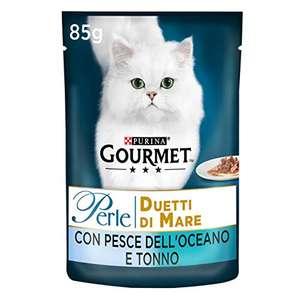 24 Buste da 85 g Ciascuna (Confezione da 24 x 85 g) Gourmet Purina Perle