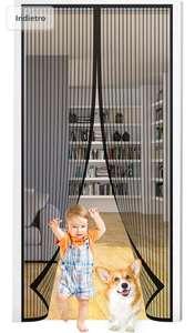 Seltochum - Zanzariera Magnetica per Porte 90x210cm