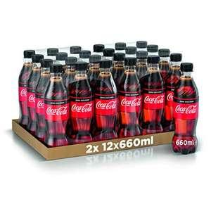 Coca-Cola Zero 660ml x24