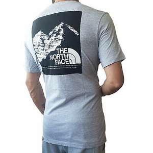 T-Shirt The North Face Graphic Grigia