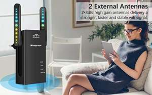 Ripetitore WiFi, 300Mbps WiFi Extender Router 2.4GHz