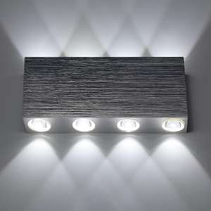 Applique LED 8W da Parete 8X 100 Lumen 12.9€