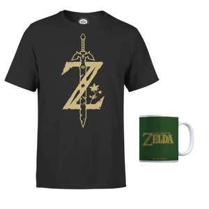 Pack Zelda T-Shirt + Tazza 12.9€