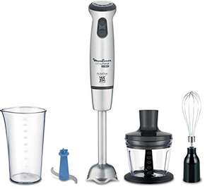 Moulinex Infinity Force Ultimate Hand Blender - Frullatore con accessori 4 in 1, 1000 W