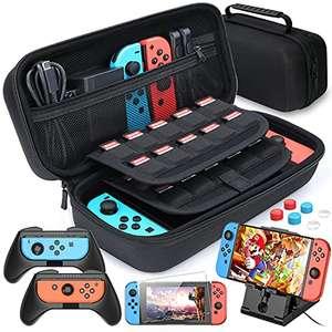 Custodia Compatibile con Nintendo Switch 11 in 1