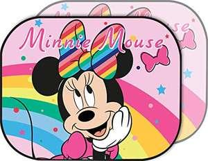 Disney Minnie Sunshade Coppia di Tendine Laterali Parasole Auto Minnie Bambina Rosa, Unica