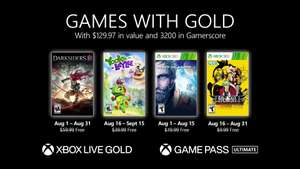 Games Xbox with Gold Agosto 2021 : Darksiders 3, Yooka Laylee, Lost Planet 3 & Garou Mark of Wolves