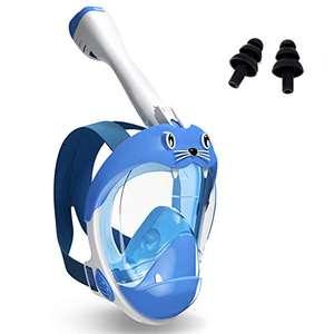 Maschera subacquea panoramica a 180 °