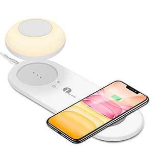 Caricatore Wireless + Luce Notturna LED