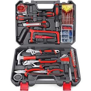 Kit di strumenti Arrinew 108 pezzi Kit di utensili manuali per uso domestico fai-da-te