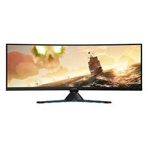 "Lenovo Legion Y44w Monitor Gaming Curvo, Display 43,4"" 2K IPS, 144Hz"