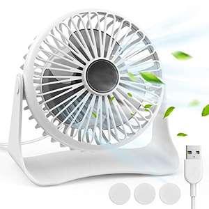 Mini Ventilatore da Tavolo USB