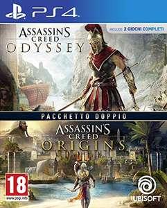 Assassin's Creed Origins + Odyssey - PlayStation 4