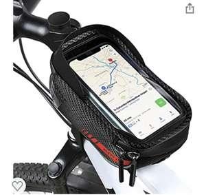 Borsa per Bicicletta con Touch Screen e Visiera Parasole,