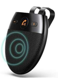 AGPTEK Vivavoce Bluetooth 5.0 da Auto con Comandi Vocali