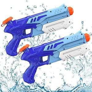 Pistola ad Acqua per Bambini con Capacità 300ML (2 pezzi)