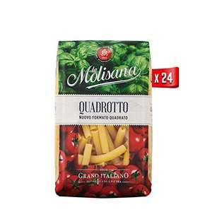 24 confezioni da 500g (tot 12kg) -La Molisana, Quadrotto Pasta Corta, SOLO Grano Italiano -