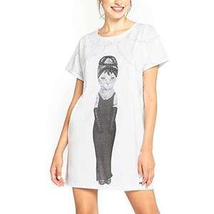 YAMAMAY® Camicia da Notte - Pets Rock S-M