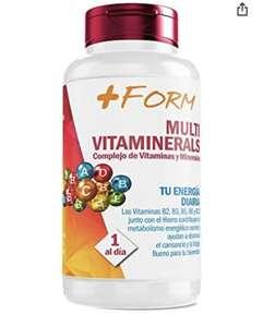 Complesso vitaminico con minerali, minerali, vitamina C, vitamine B2, B3, B5, B6 e B12 e ferro