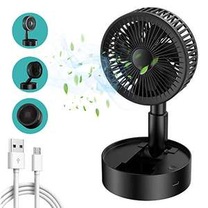 Mini Ventilatore Portatile Pieghevole USB a 3 velocità
