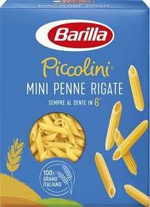 Barilla Pasta Mini Penne Rigate Piccolini, Pasta Corta di Semola di Grano Duro 100% Italiano, 500 gr