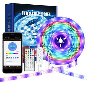Striscia LED 5 metri 5050 RGB WiFi e con telecomando