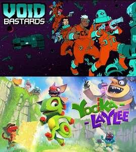 Epic Games - Giochi PC Gratis : Yooka-Laylee & Void Bastards