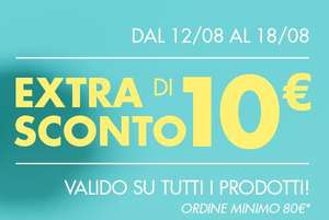 Coupon 10€ Tutto COOP Online