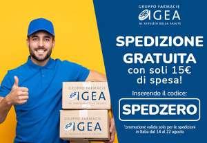Spedizione gratuita su Farmacia Igea