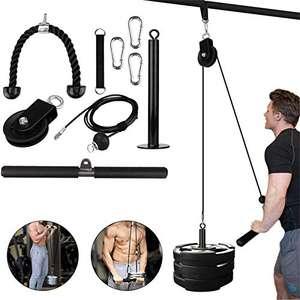 Fitness LAT Lift Pulley System con macchina per cavi