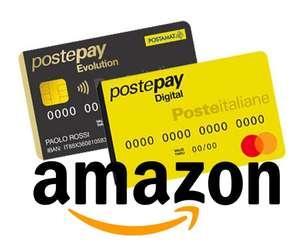 5€ di sconto su Amazon con PostePay - Per Account Selezionati