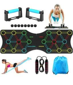 TAKRINK Push up Board 19 in 1 Attrezzature Multifunzione per l'Home Workout Fitness