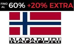 Outlet Napapijri - Sconti fino al 60% + 20% EXTRA